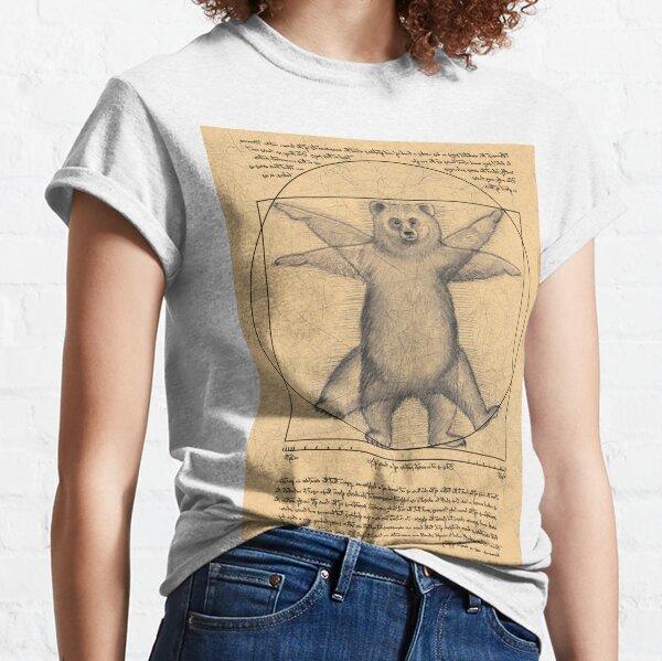 The vitruvian bear Classic T-Shirt