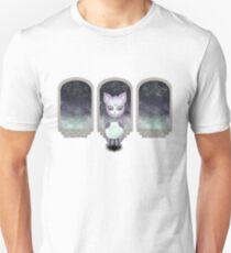 Mystic Miku | Crystal Ball & Zodiac | White Slim Fit T-Shirt