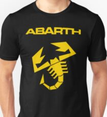 Abarth Scorpion Yellow Unisex T-Shirt