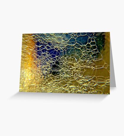 Bubbles in Glass Greeting Card