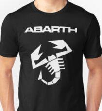 Abarth Scorpion White Unisex T-Shirt
