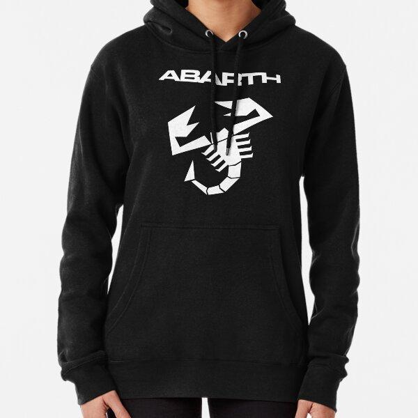 Abarth Scorpion White Pullover Hoodie
