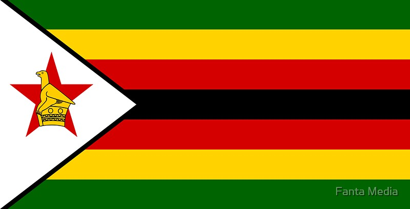 Flag of zimbabwe by fanta media