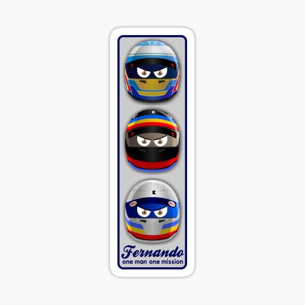 FERNANDO, one man one mission Sticker