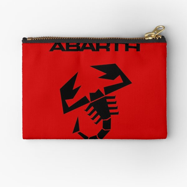 Abarth Scorpion Black Zipper Pouch