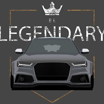 Be Legendary Gray by Subspeed