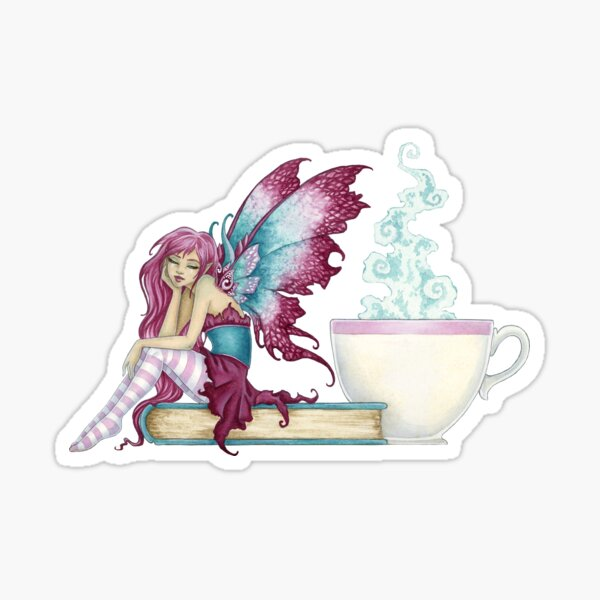 Sunday Morning Fairy Sticker