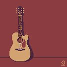 Acoustic Guitar by Kevin Houlihan