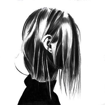 just hair and an ear by stoekenbroek