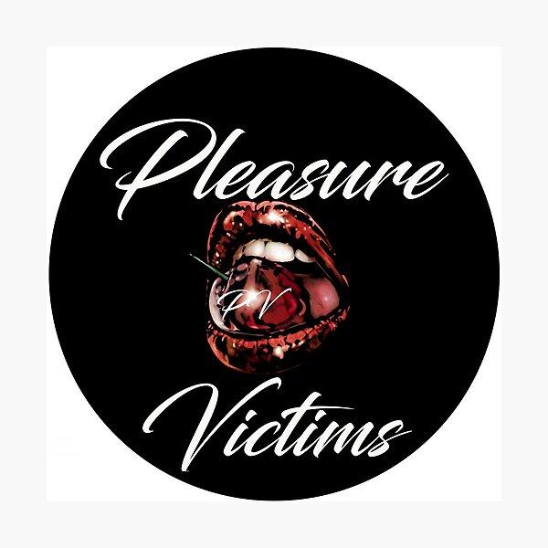 Pleasure Victims Logo 3 Photographic Print