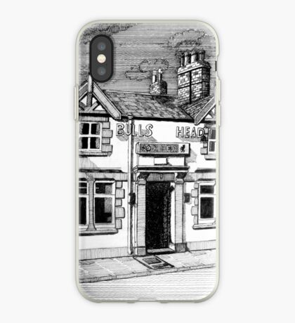 258 - BULL'S HEAD, RHOS - DAVE EDWARDS - INK (2015) iPhone Case