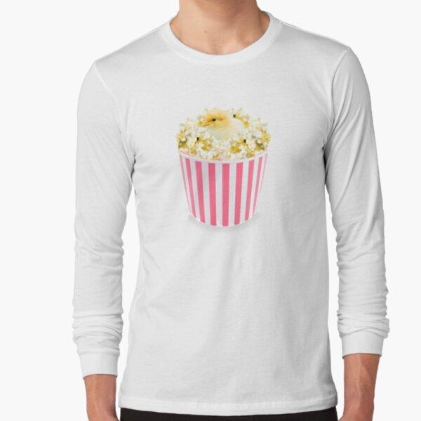 Little Chicken Popcorn by Alice Monber Long Sleeve T-Shirt