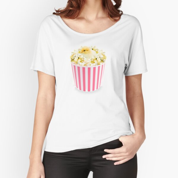 Little Chicken Popcorn by Alice Monber Relaxed Fit T-Shirt