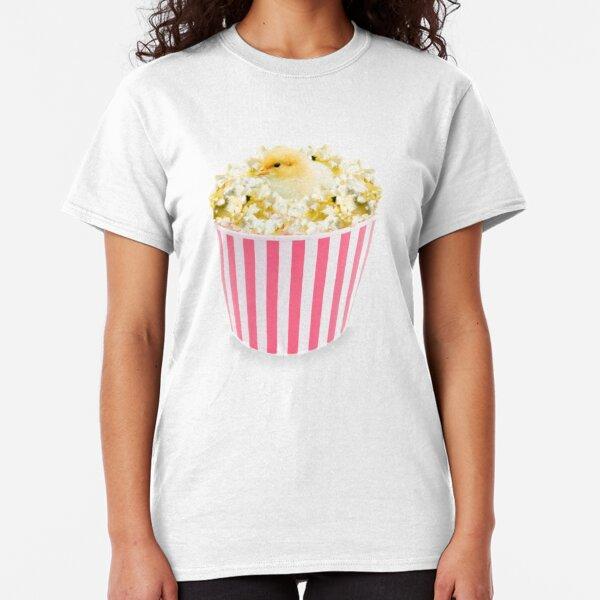 Little Chicken Popcorn by Alice Monber Classic T-Shirt