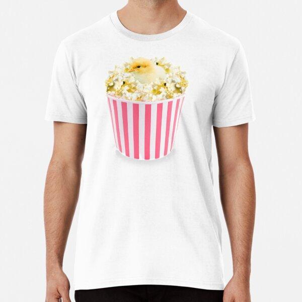Little Chicken Popcorn by Alice Monber Premium T-Shirt