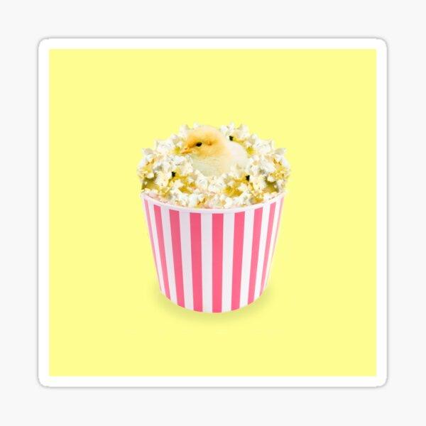 Little Chicken Popcorn by Alice Monber Sticker