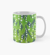 Lily of the Valley Floral Pattern Mug