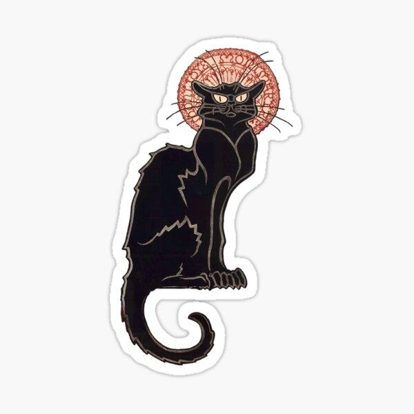 Black Cat-Le Chat Noir Sticker