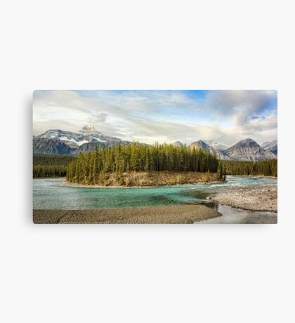 The Icefields Parkway Canvas Print