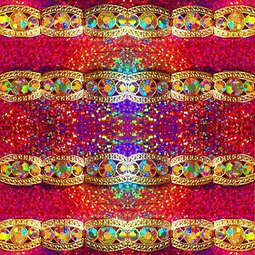 Rainbow Diamond pattern by RainBowEscence