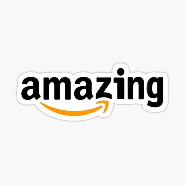 Amazing Amazon logo Sticker