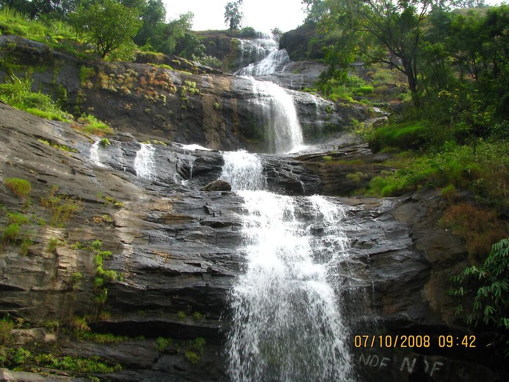 water fall seasonalwater fall by mathewkmangalam