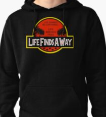 Life Finds A Way Pullover Hoodie