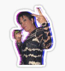 Kris Jenner Sticker Sticker
