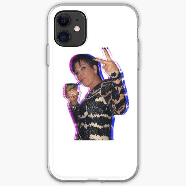 Kris Jenner Sticker iPhone Soft Case