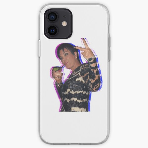 Pegatina Kris Jenner Funda blanda para iPhone