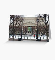Washington DC Ice Skating Greeting Card