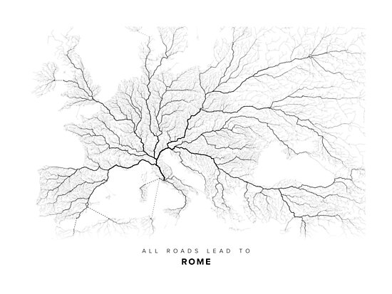 All Roads Lead to Rome by LaarcoStudio