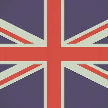 British Mod Union Jack Design by PeppermintClove