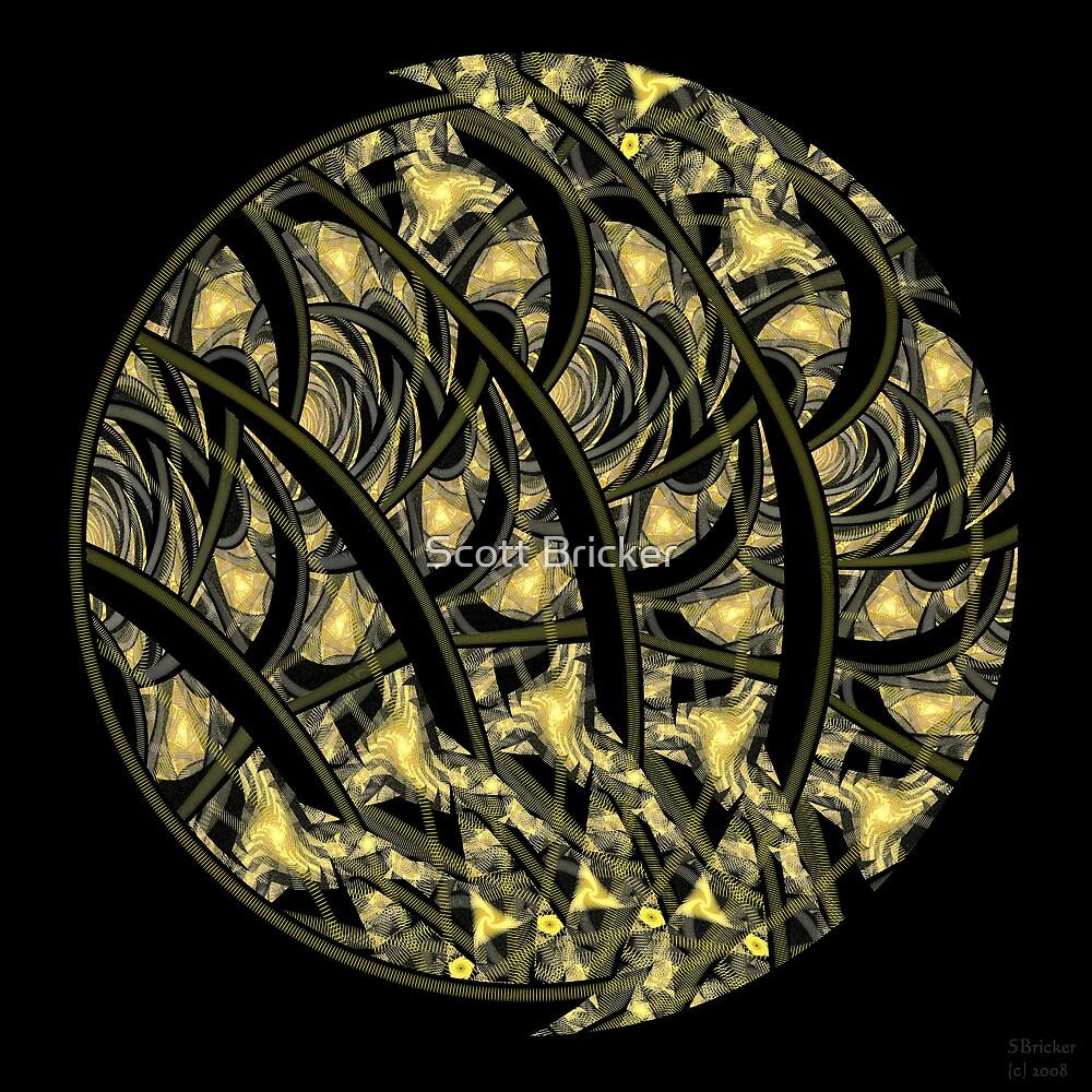'Glowing Woodcut' by Scott Bricker