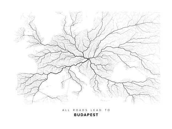 All Roads Lead to Budapest by LaarcoStudio