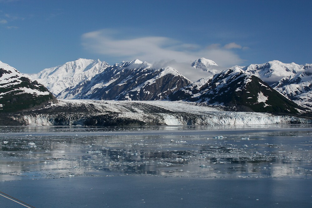Hubbard Glacier by MPDurbin