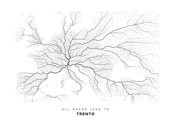 All Roads Lead to Trento by LaarcoStudio