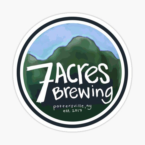 7 Acres Brewing Badge Sticker