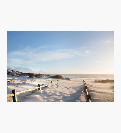 Cape Town's Dreamy Golden Beaches Photographic Print