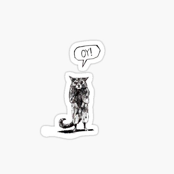 Oy from The Dark Tower Sticker