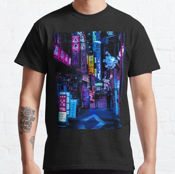 Blue Tokyo Alleys Classic T-Shirt