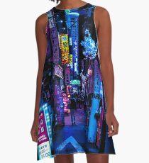 Blade Runner Vibes A-Line Dress