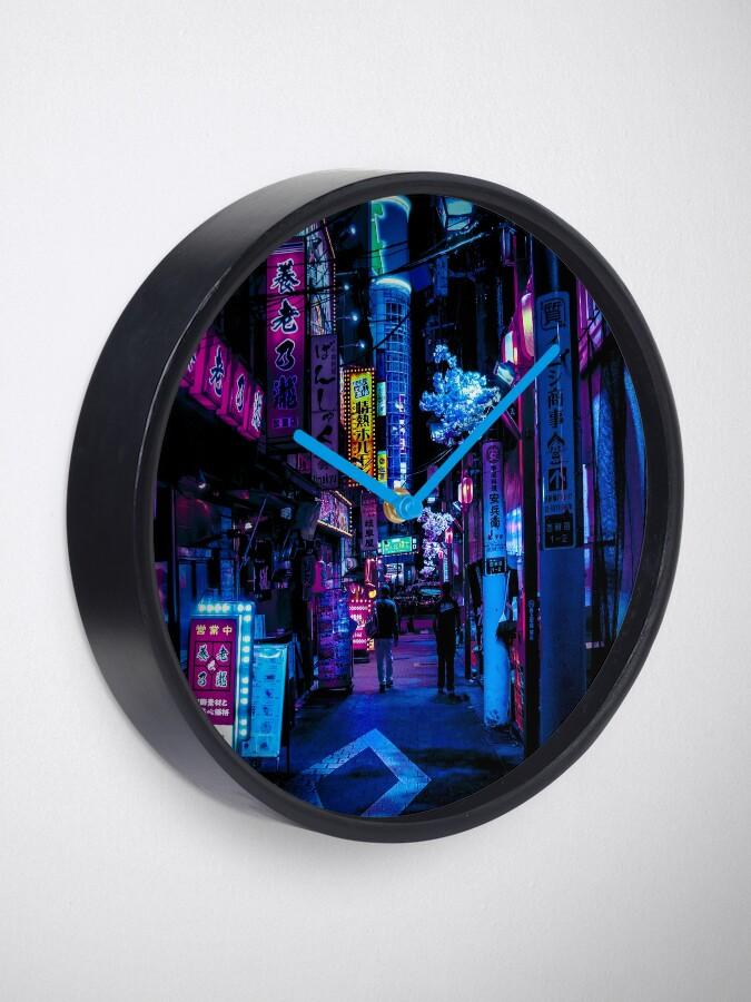 Alternate view of Blade Runner Vibes Clock