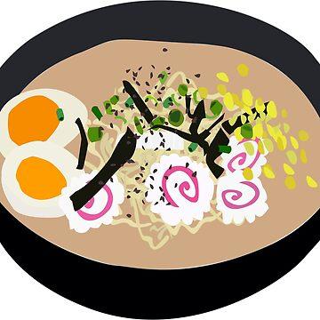 ramen noodles by izzysumardi