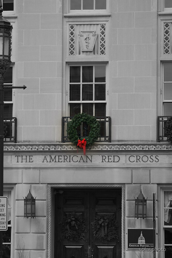 Red Cross at Christmas by solasphoto