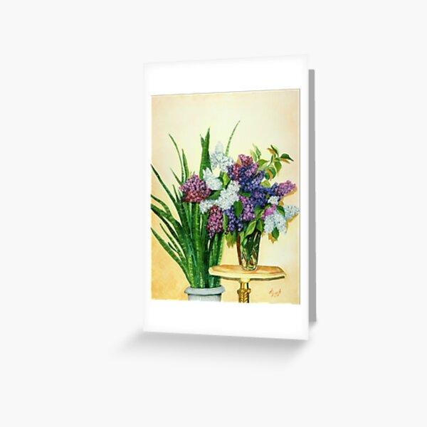 Lilacs II Greeting Card