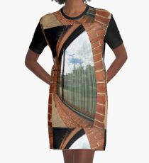 Window reflection Graphic T-Shirt Dress