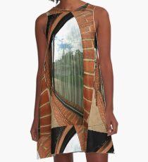 Window reflection A-Line Dress