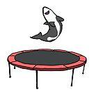 Trampoline Shark by bobknarwhal