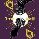 Ouija cat party by swinku